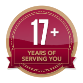 17+ Years of Service