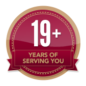 19+ Years of Service