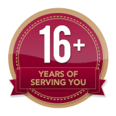 16+ Years of Service
